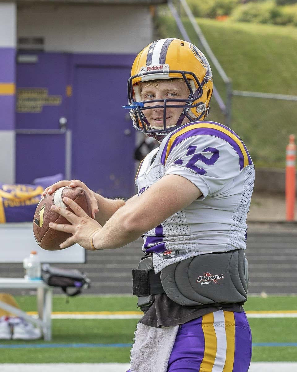 Senior Dawson Lieurance is expected to guide the Columbia River offense in 2018. Photo by Mike Schultz
