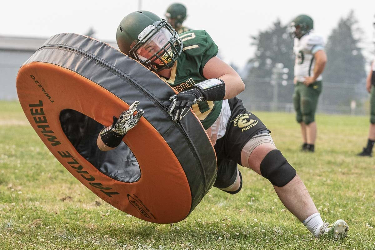 The Evergreen Plainsmen have their eyes on a playoff berth this season. Photo by Mike Schultz