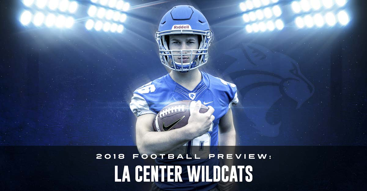 Wyatt Dodson has been making plays for La Center for years. He rushed for more than 1,500 yards as a junior. Now a senior, he wants to be more of a leader. Photo by Mike Schultz. Edited by Andi Schwartz.