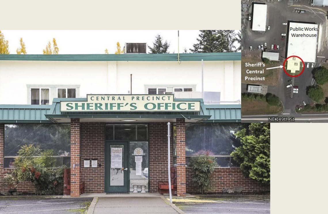 The old Central Precinct building for the Clark County Sheriff's office was closed in early 2017. Photo courtesy Clark County Sheriff's Office