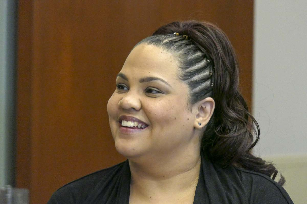Tanisha Harris is hoping to unseat Rep. Vicki Kraft in the 17th Legislative District, Position 1. Photo by Chris Brown