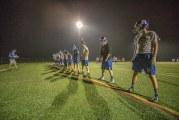 Ridgefield football uses midnight magic to open season