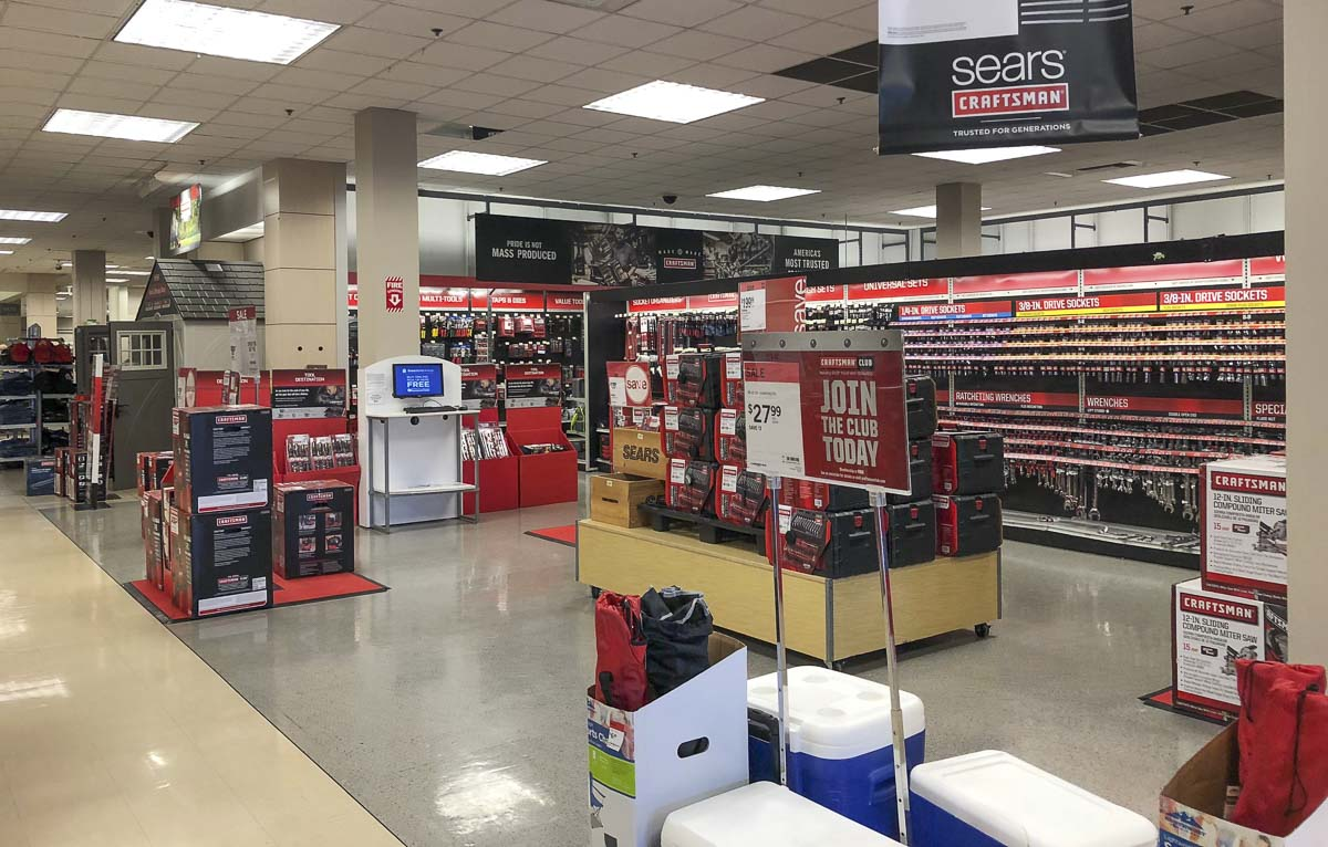 Sears Holdings Corp. has already sold off its Craftsman brand, and may do the same with Kenmore. Photo by Andi Schwartz