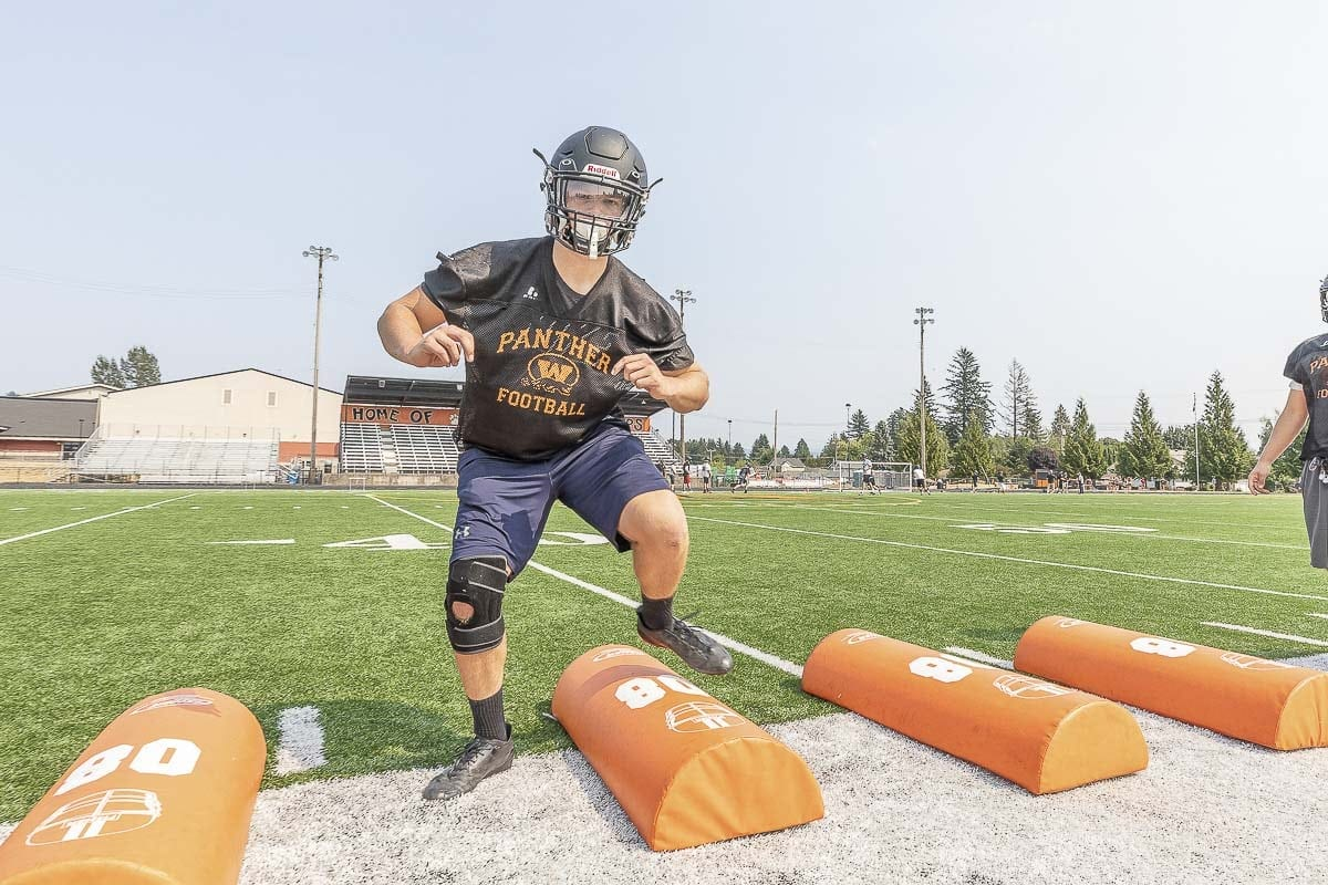 Jakob Davis is healthy again, which gives Washougal more star power on offense. Photo by Mike Schultz