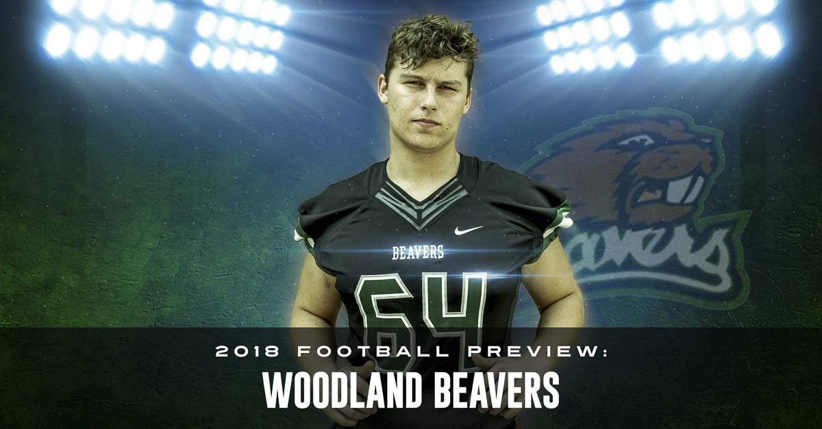Alex Wakefield lived his first 16 years in Germany. Now living in Woodland, he has picked up American football and is one of the team's top offensive linemen. Photo by Mike Schultz. Edited by Andi Schwartz.
