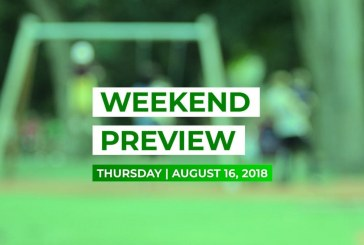 Weekend Preview • August 16, 2018