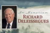 Fire District 3 Commissioner Richard Deleissegues remembered