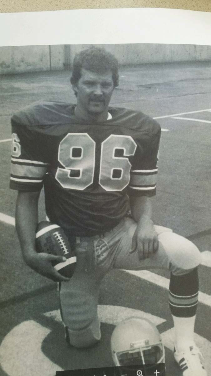 Mike Kesler, now the head coach at Battle Ground, was a defensive lineman for the Ducks in 1978 and 1979. Photo courtesy of Mike Kesler