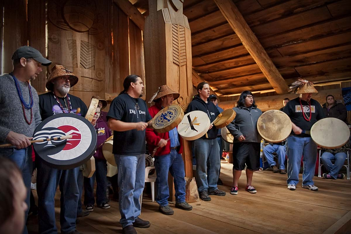Speakers at the upcoming First Thursday Speaker Series will highlight the long history of Native American Music in Southwest Washington. Photo courtesy of Clark County Historical Museum