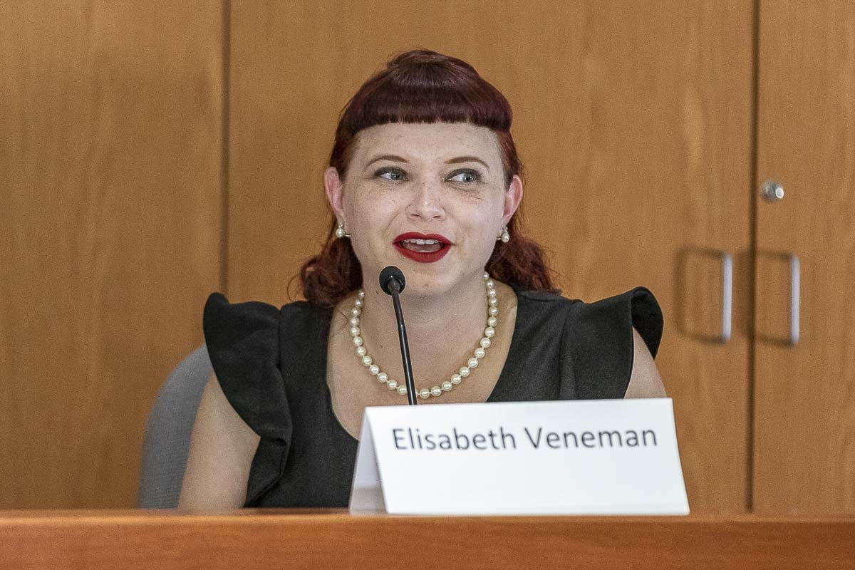 Elisabeth Veneman is hoping to unseat the incumbent to become Clark County's next councilor for District 2. Photo by Mike Schultz