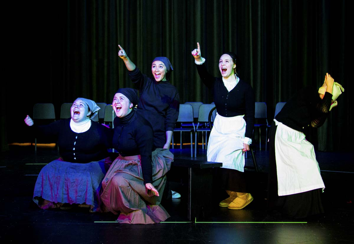 In addition to sporting events, Woodland students can also attend their classmates' theater and musical performance at no cost, too. Photo courtesy of Woodland School District