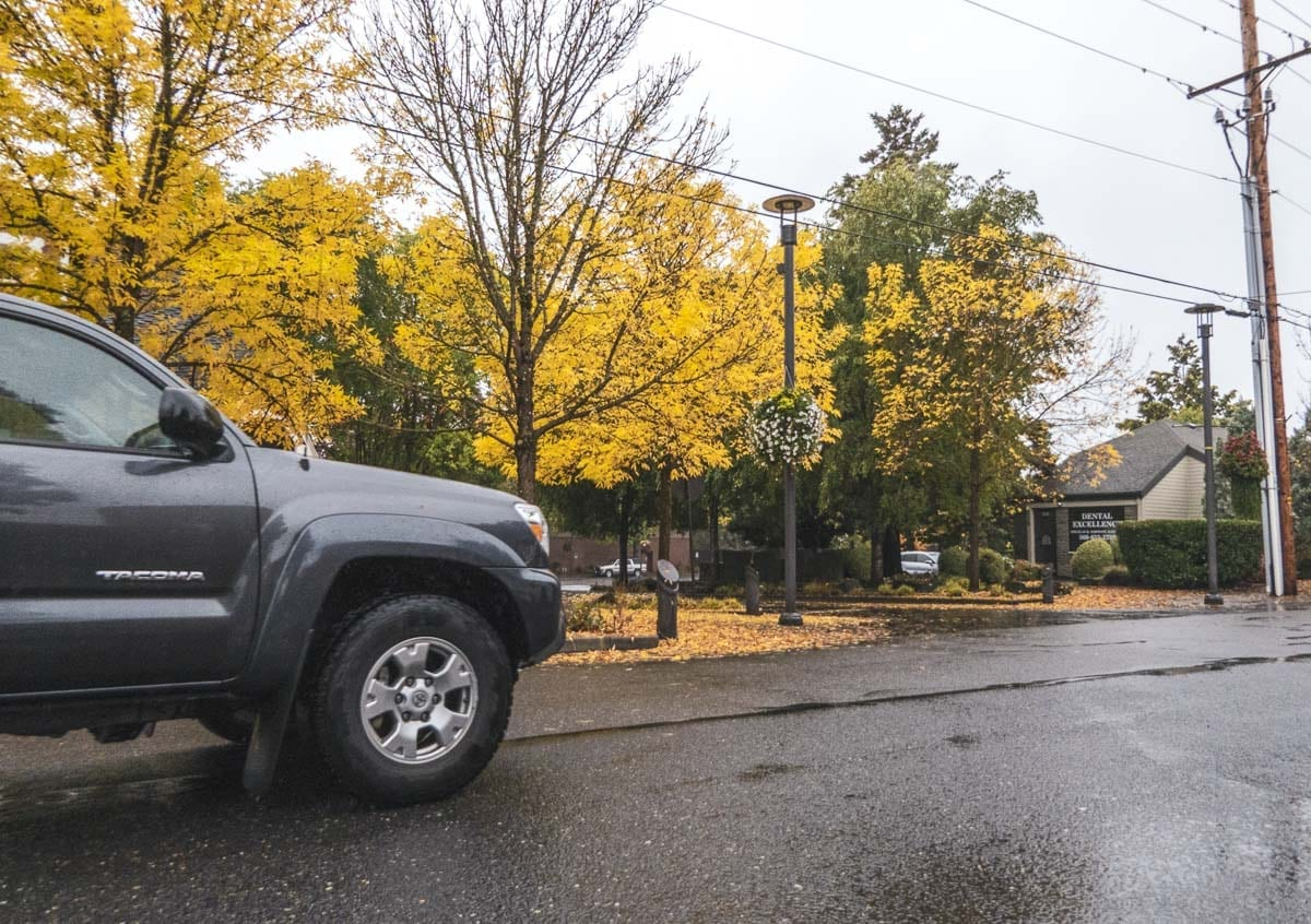 If enacted, Washougal's proposed $20 vehicle license tab fee would help create a project fund for transportation related endeavours. Photo by Jacob Granneman