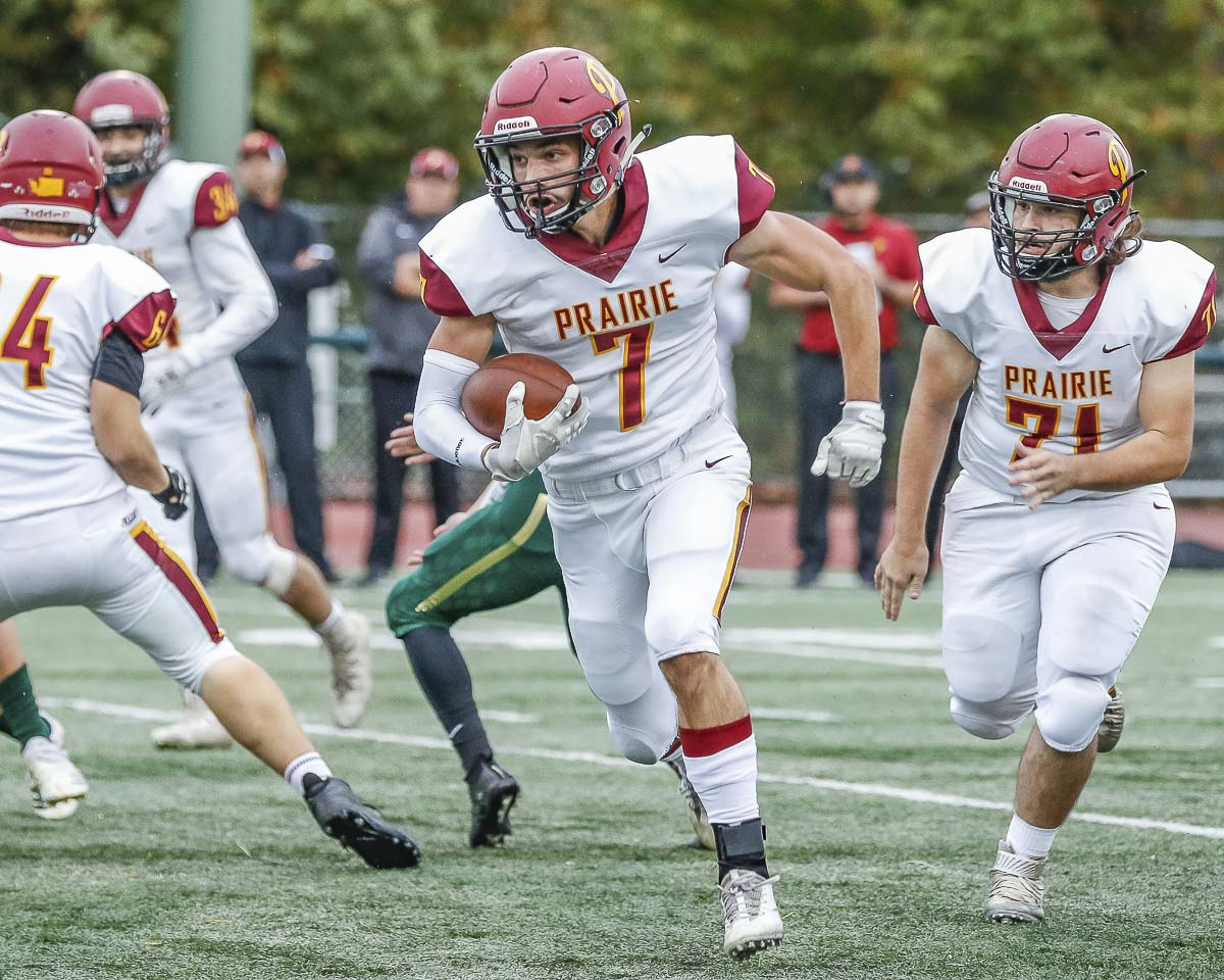 Nolan Mickenham and the Prairie Falcons made it to the playoffs for the first time since 2011. Photo by Mike Schultz