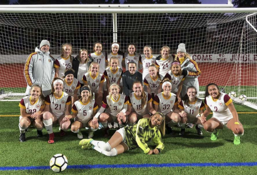 The Prairie Falcons are going to the state semifinals for the second time in program history. Photo courtesy of Malaika Quigley.