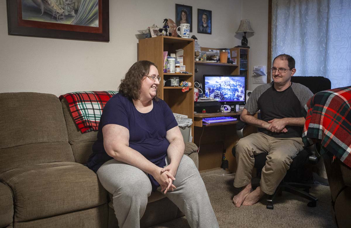 Cole's mother Jamie, (left), and his father Galen, (right), decided early on that they wanted Cole and his sister Kaylee to choose to learn new things and make their own decisions. They believed the same thing when it came to getting Jojo for Cole; they let him decide. Photo by Jacob Granneman