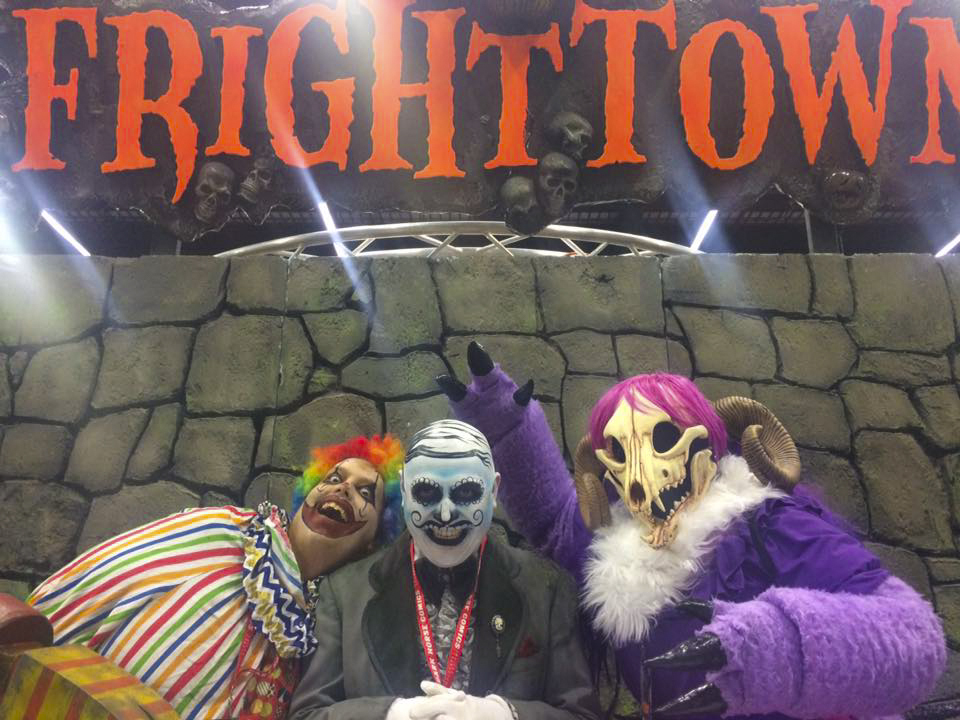 "FrightTown, another Portland haunted house located below the Memorial Coliseum in the Rose Quarter, offers a ""whole city block of screams and shock."" Photo from FrightTown Facebook page."