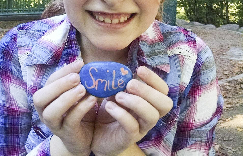 """Children and adults alike enjoy finding different painted rocks around the Clark County area. This rocks are painted and hidden by members of the Vancouver """"Rocks!"""" group. Photo from Vancouver """"Rocks!"""" Facebook page"""