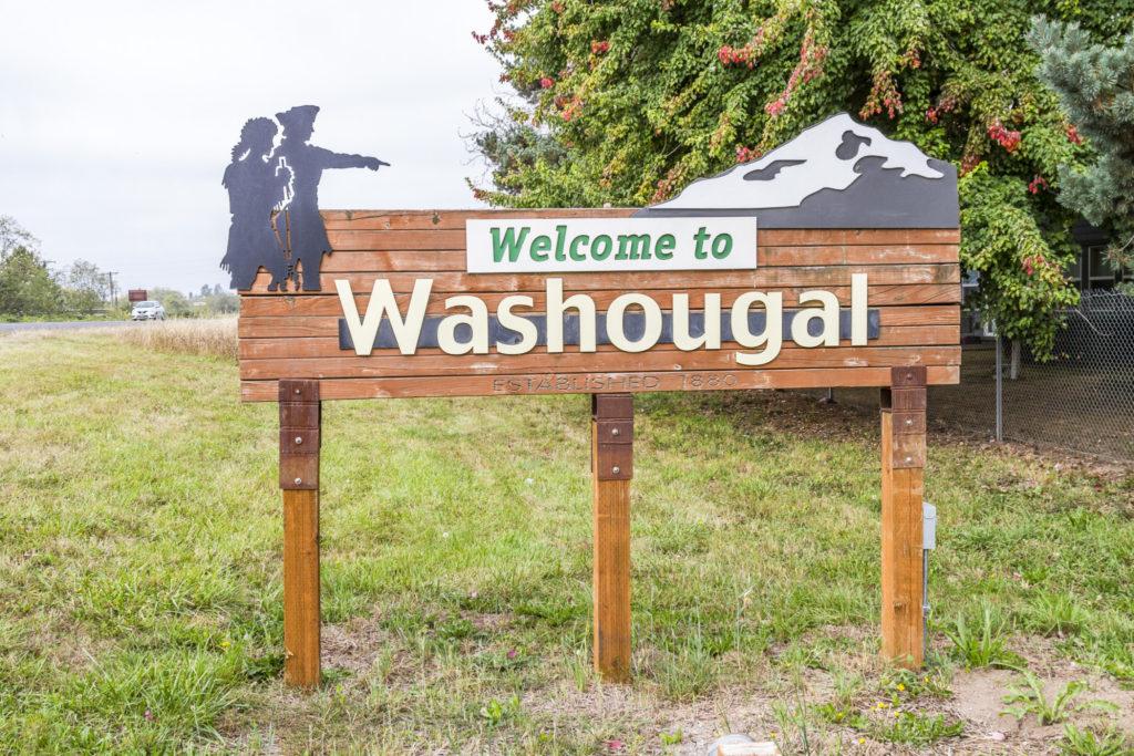 Washougal Sign