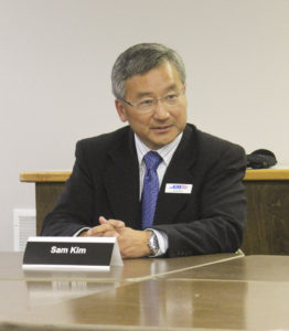 Sam Kim is running for state representative position No. 1. Photo by Joanna Yorke