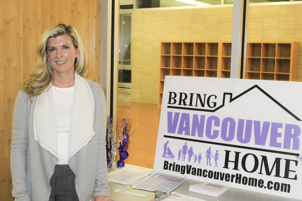 Katie Archer, campaign manager for Bring Vancouver Home, says passage of Proposition 1, Vancouver's affordable housing levy, is critical to solving the city's housing crisis and providing long-term housing solutions for Vancouver's most vulnerable citizens, including seniors, veterans, the disabled, the homeless and low-income working families struggling to pay rent.