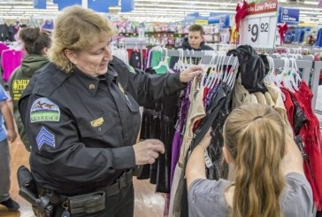 Area agencies hold annual Shop with a Cop event