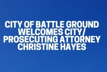 City of Battle Ground welcomes City/Prosecuting Attorney Christine Hayes