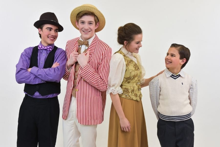 Based on Meredith Willson's six-time-Tony-Award-winning musical comedy, The Music Man Junior features some of musical theatre's most iconic songs and a story filled with wit, warmth and good old-fashioned romance. Photo courtesy of Journey Theater Arts Grou