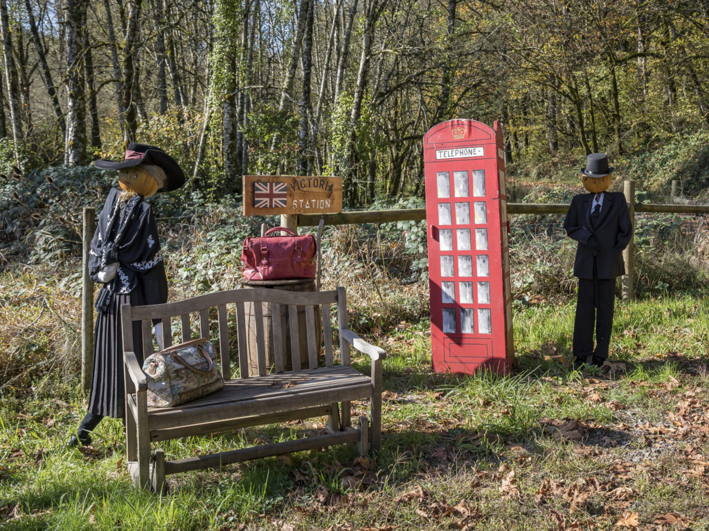 """Pumpkin Lane at Pomeroy Living History Farm includes more than 100 """"pumpkin people"""" dressed up as various characters. Enjoy Pumpkin Lane one more time this year this upcoming Saturday and Sunday. Photo by Mike Schultz"""