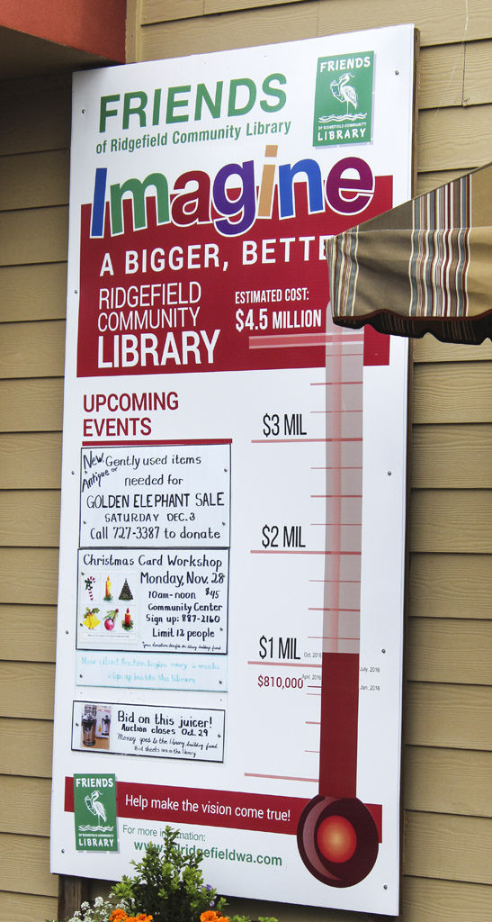 The Ridgefield Friends of the Library group has raised approximately $1 million