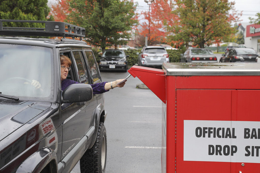 Clark County voters returning ballots slower