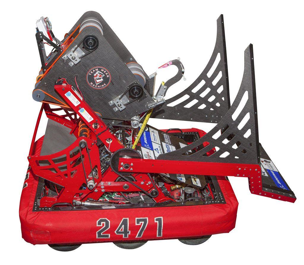 Team mean Machine FIRST Robotics Program Competition news