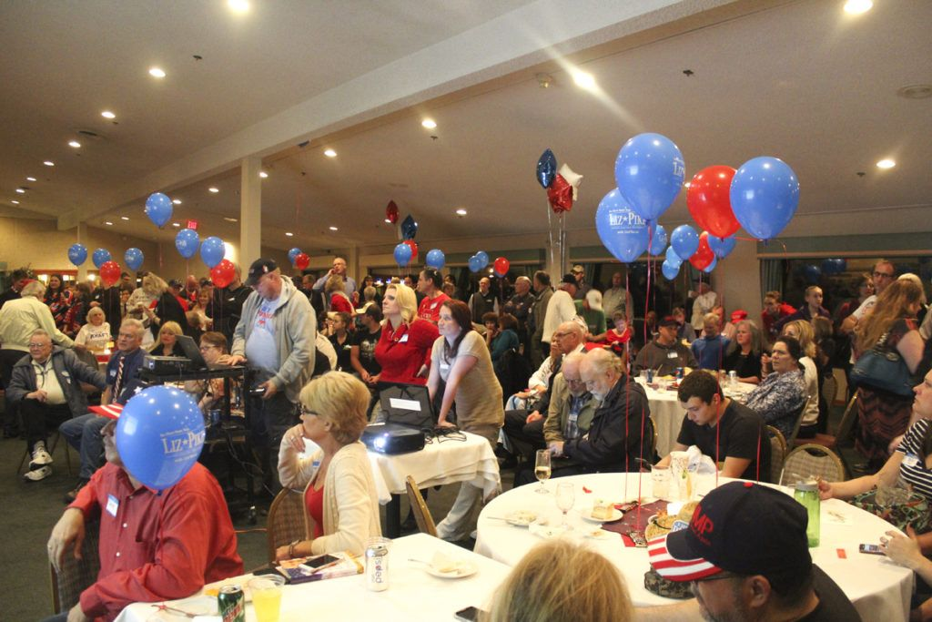 Clark County Republicans celebrate Trump lead, local Republican victories