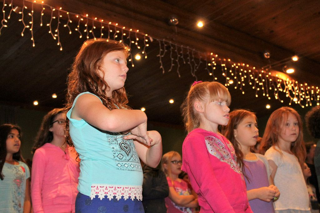 Hough Elementary Glee Choral Group
