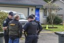 Update: Cowlitz Sheriff, Woodland Police, State Patrol Crime Lab continue to process scene of apparent homicide in Woodland