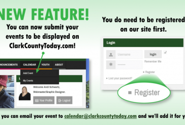 Submit your events on our new calendar