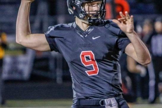 camas-high-school-football-quarterback-jack-colletto-throwing-a-pass-against-enumclaw-high-school-football