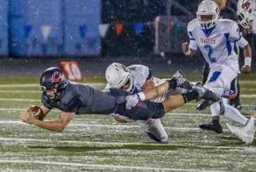 Camas Papermakers advanced to the quarterfinals of the Class 4A state high school football playoffs with a 55-6 win