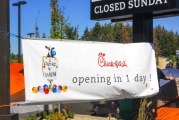 Chick-Fil-A opens in Vancouver