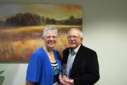 Ken and Peggy Kirkman receive Silent Servant Award