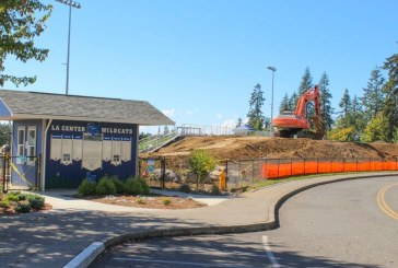 Long-anticipated La Center High School football stadium nearly done