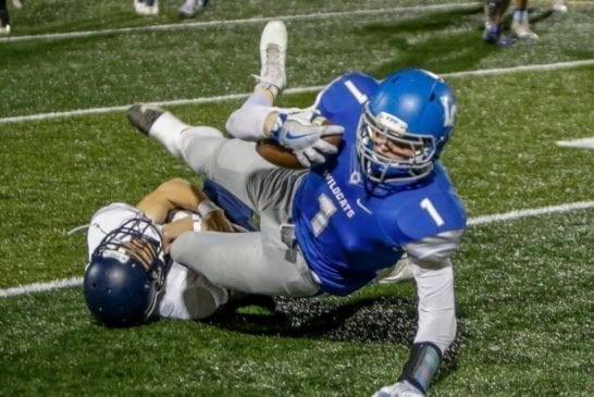 la-center-high-school-football-tight-end-jake-wise-tackled-after-gain-against-forks-high-school-football