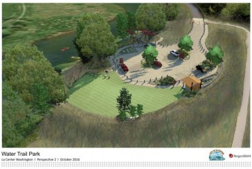 La Center plans 'water trail' park, capitalizes on nearby East Fork Lewis River