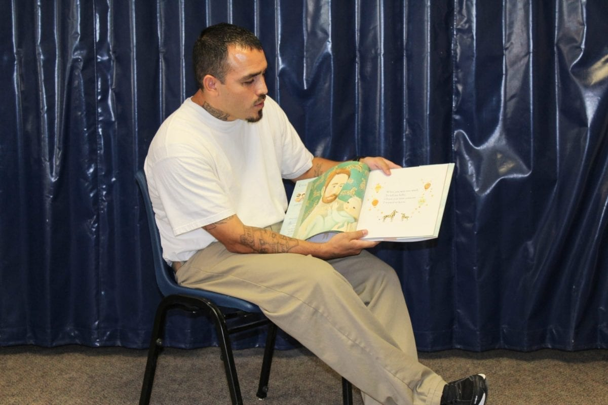 Inmates at Larch can read to their kids every day