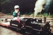 Norvell Railway offers excursions on miniature railroad