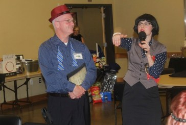 Community members transform into suspects, investigators at food bank fundraiser