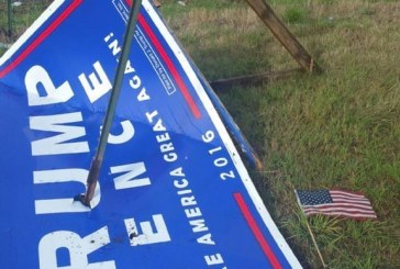 Trump supporters offer reward for information leading to arrest of sign vandals