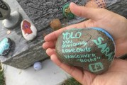 People find joy, excitement in painted rocks
