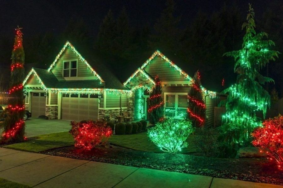 Houses around Clark County and beyond light up the night with Christmas lights