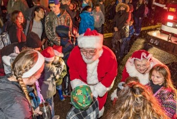 Battle Ground residents gather at community center for annual Tree Lighting
