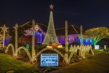 Area residents display their Christmas spirit